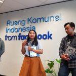 Penghargaan Pogau untuk dua wartawan Balairung dari Yogyakarta.